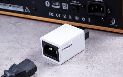 解決變壓器哼聲問題-iFi DC Blocker 直流阻斷器